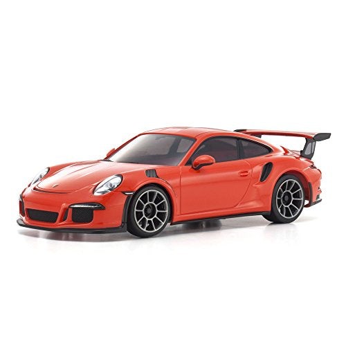 MINI-Z RWD Porsche 911 GT3 RS RTR (MR-03), Lava Orange