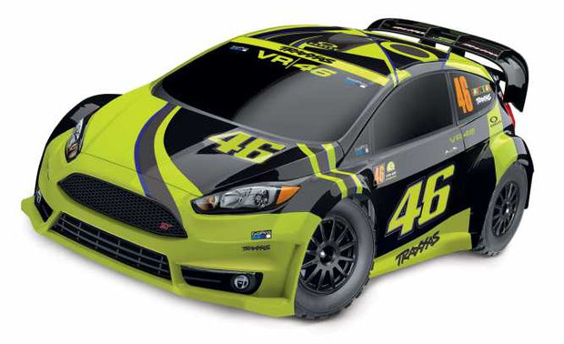 Ford Fiesta® ST Rally:  1/10 Scale Electric Rally Racer with Officially Licensed Painted Body and TQ 2.4GHz radio system