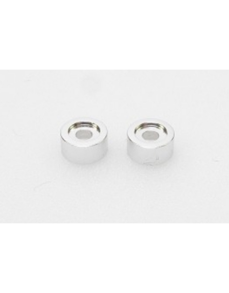 PN Racing Disk Damper screw Washer (Silver 2pcs)