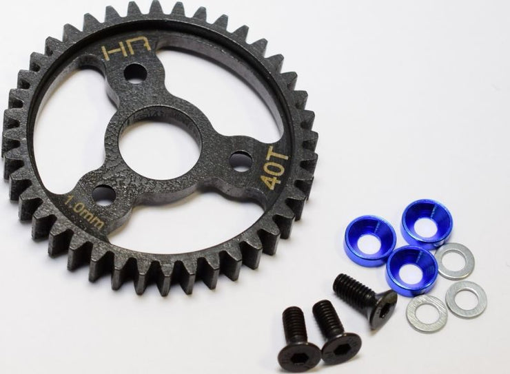 Hot Racing steel Spur Gear TRAXXAS 40T mod 1.0 Revo 3.3
