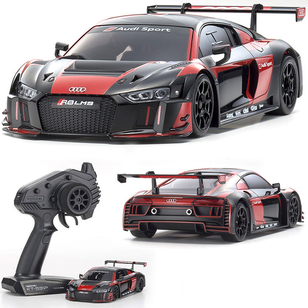 Mini-Z RWD Audi R8 LMS 2016 (MR-03) GRAY/RED