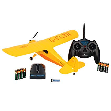 HobbyZone Champ RTF Includes every thing you need to fly.