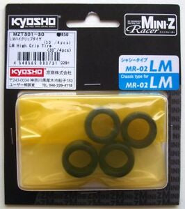 Kyosho Mini-z LM High Grip Tires MZT301-30 (4pcs)