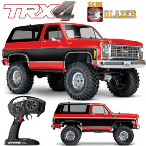 TRX-4 CHEVY BLAZER,1979 RED