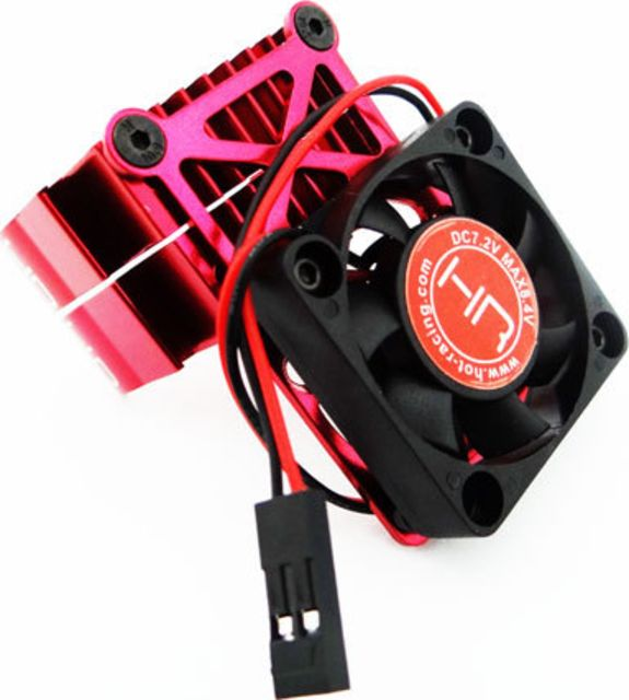 Hot Racing Red  multi Mount Fan heat sink