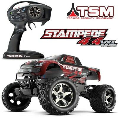 Traxxas Stampede VXL 4X4 (Red)