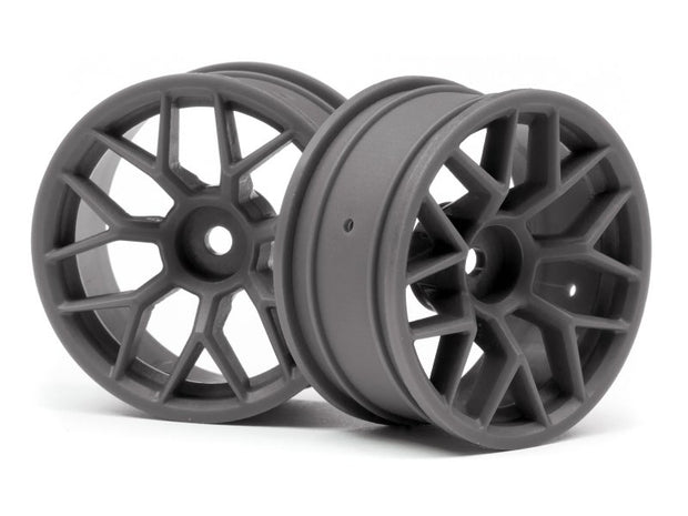 HPI RTR Gunmetal Wheels (26mm 6mm offset 1 pair)
