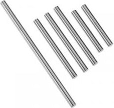Suspension pin set, front or rear corner (hardened steel), 4x85mm (1), 4x47mm (3), 4x33mm (2) (qty 4, #7740 required for complete set)