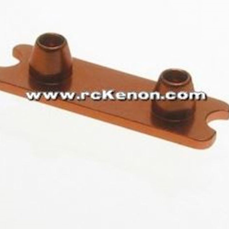 PN Racing Front Spring Holder (Orange ) Mini-z MR03