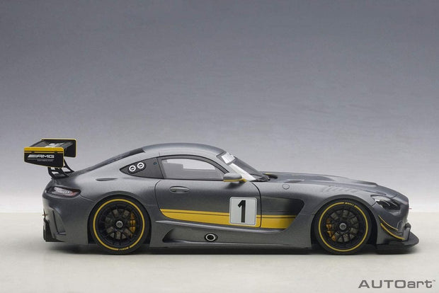 Mini-Z AutoScales Collection Mercedes-AMG GT3 2020 (Gray/Red)