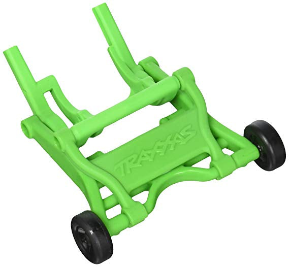 Wheelie bar, assembled (GREEN) (fits Slash, Stampede®, Rustler®, Bandit series)