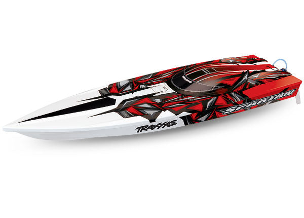 Traxxas SPARTAN Boat (Red)