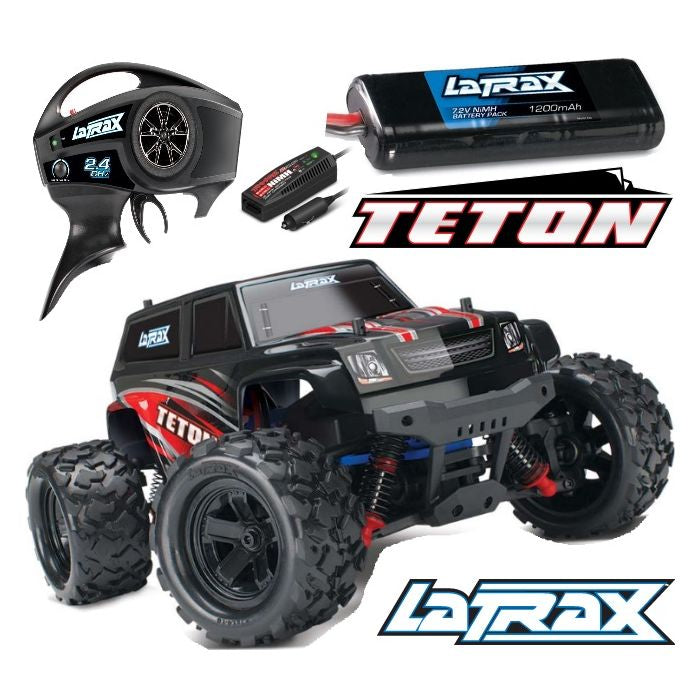 Traxxas 1/18 Scale Teton (Red)