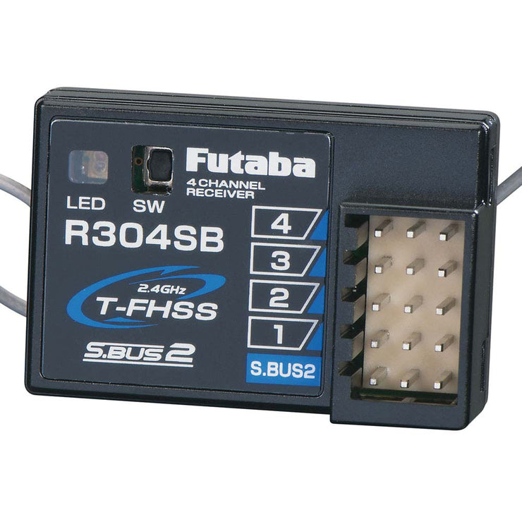 Futaba R304SB 2.4GHz S-FHSS 4-Channel Receiver