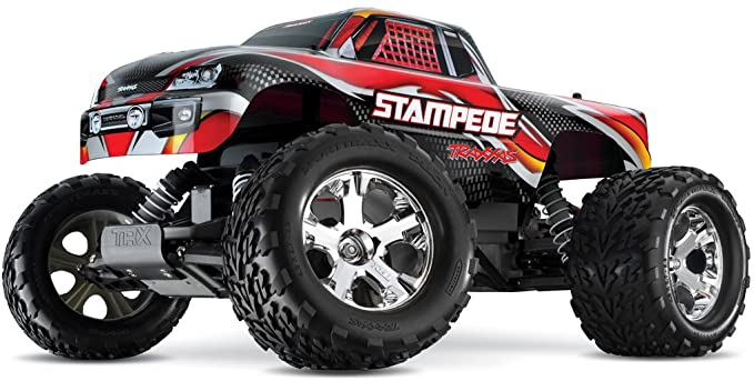 STAMPEDE RTR W/XL-5 ESC Red
