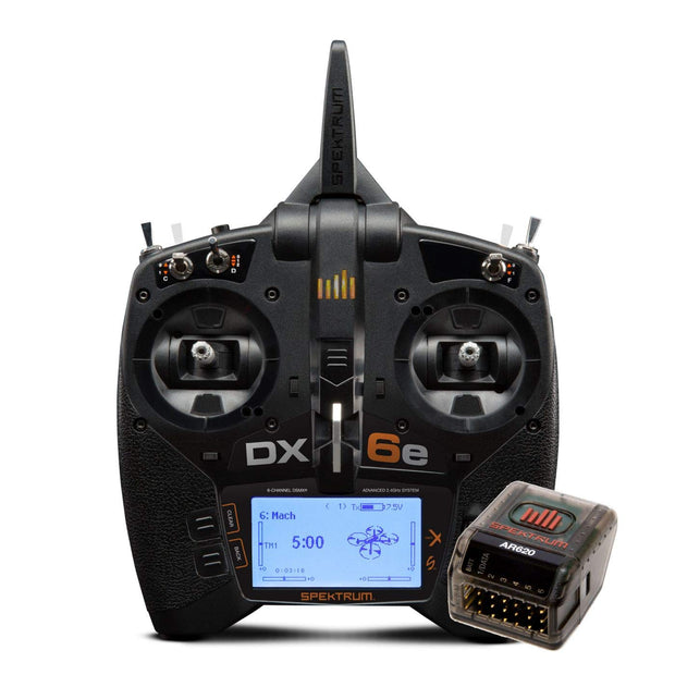 SPEKTRUM DX6e Radio DSM Includes AR620 Receiver