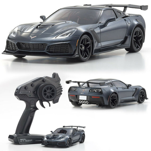 Kyosho Mini-z Corvette ZR1 with LED's Gray
