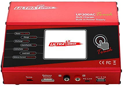 Ultra Power 300W 20A  Charger Touch 1-6S Lipo