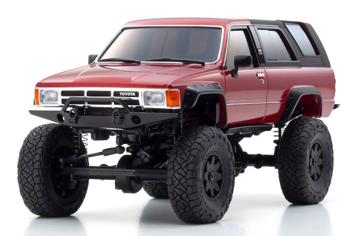 Mini-z 4X4 TOYOTA 4Runner (Hilux Surf) Ready-set 4WD CRAWLER Metallic Red