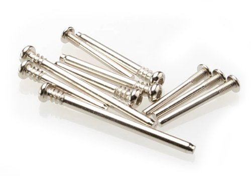 Suspension screw pin set, steel (hex drive) (requires part #2640 for a complete suspension pin set) (Rustler®, Stampede®, Bandit)