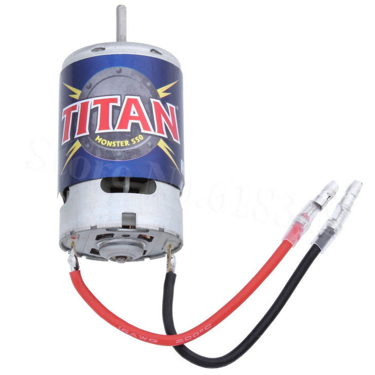 Motor, Titan® 550 (21-turns/ 14 volts) (1)