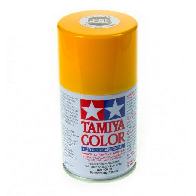 Tamiya Paint PS-19 Camel Yellow