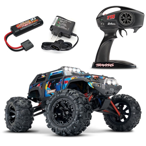 Summit: 1/16-Scale 4WD Electric Extreme Terrain Monster Truck with TQ 2.4GHz radio system