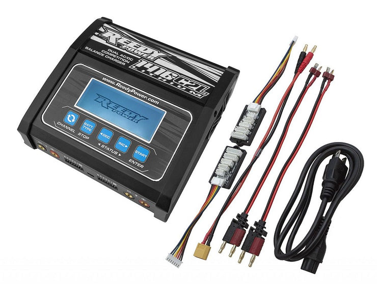 Reedy 1416-C2L Dual AC/DC comp Charger