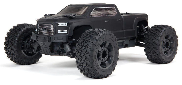 1/10 Arrma Big Rock Crew Cab 4WD BLX 3S RTR BLACK