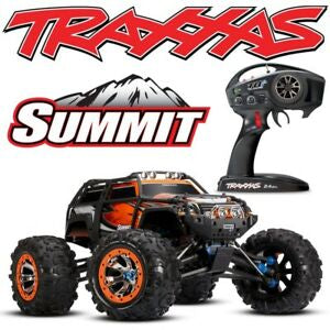 SUMMIT 4WD ELECTRIC MONSTER TRUCK ORANGE