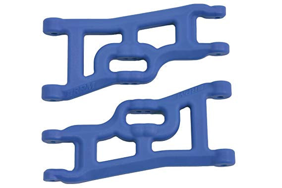 Rpm offset-compensating Front A-arms blue 2wd