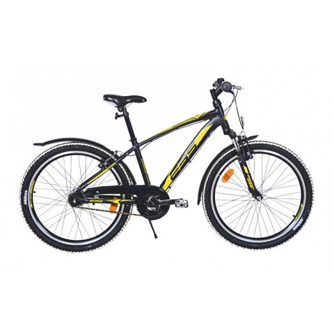 EBS Sporty Boy 24' 3S Black Matt juniorcykel