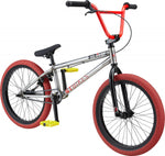 GT Air Raw-Blk-Red BMX Dirtbike