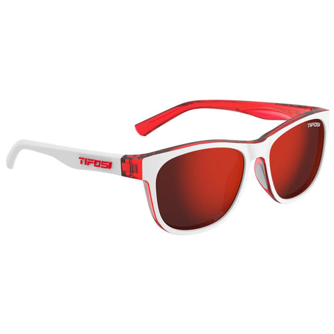 Solbrille Tifosi Swank Icicle Red/Smoke Red