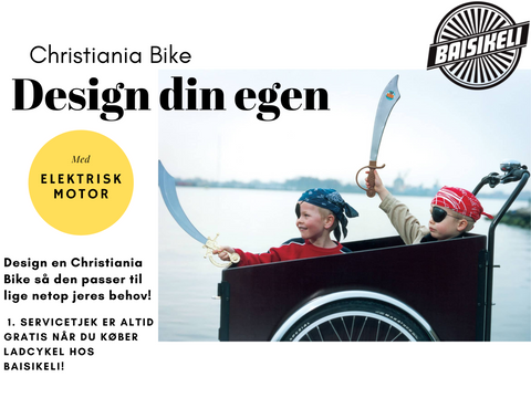 Christiania Bike E-Light - Design selv
