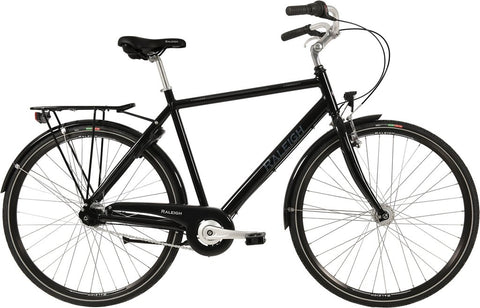 Raleigh Shopping Alu Gent N7 Sort 56cm herrecykel