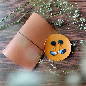 Polymer Clay Earring and Leather Journal Making - Crafune x Tinkle Arts (3rd oct, 2pm)