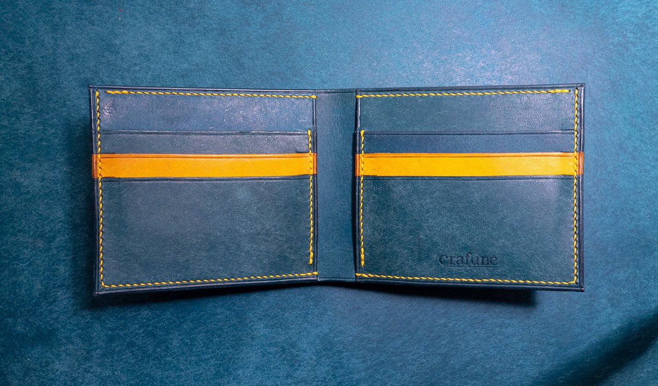 Pueblo Leather Bi-fold Wallet