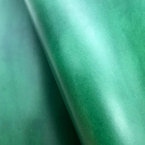 Leather Panel - Walpier Conceria - Buttero Green - Crafune