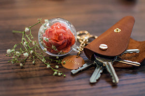 Leather Craft and Paper Flower Bag Charm - Crafune x Natalie (29th Aug, 11.15 am)