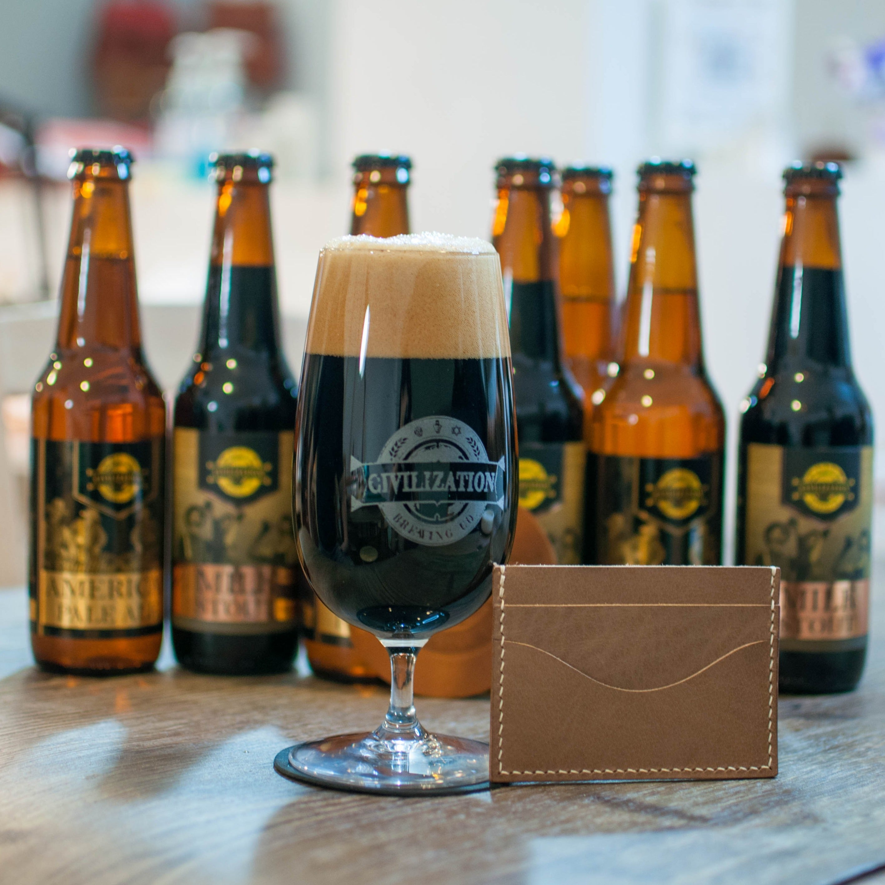 Beer Brewing and Leather Crafting Workshop - 26th Sept 2020, 3pm to 7pm.