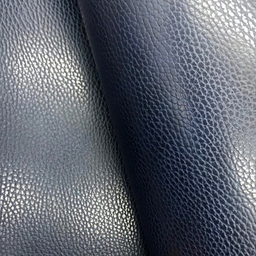 Leather Panel - Walpier Conceria - Dollaro Blue - Crafune