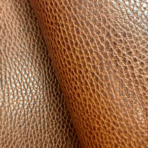 Leather Panel - Walpier Conceria - Dollaro Brown - Crafune Leather Craft Workshop and Starter Kits