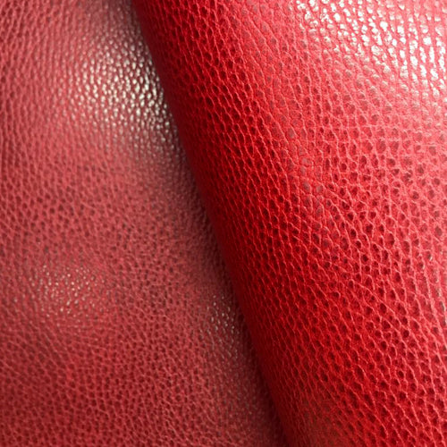 Leather Panel - Walpier Conceria - Dollaro Red - Crafune