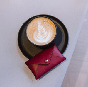 Latte Art and Leather Craft - Crafune x Foreword Coffee - Crafune