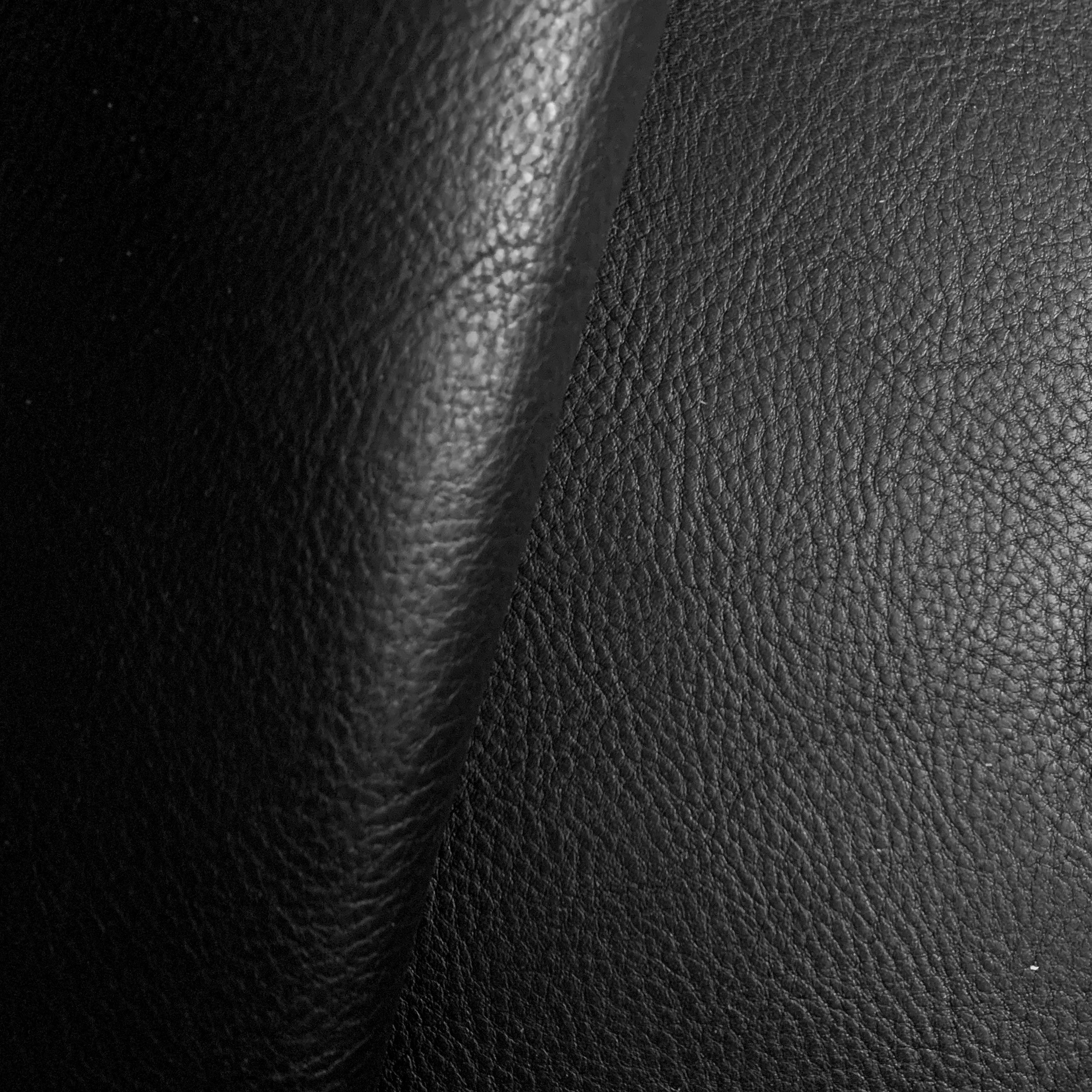 Leather Panel - Badalassi Carlo - Minerva Box Nero