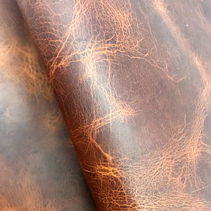 Leather Panel - Badalassi Carlo- Wax (Cognac-Brown) - Crafune