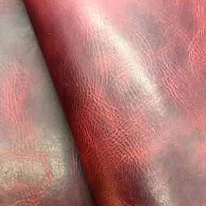 Leather Panel - Badalassi Carlo  Wax - Mosto - Crafune Leather Craft Workshop and Starter Kits