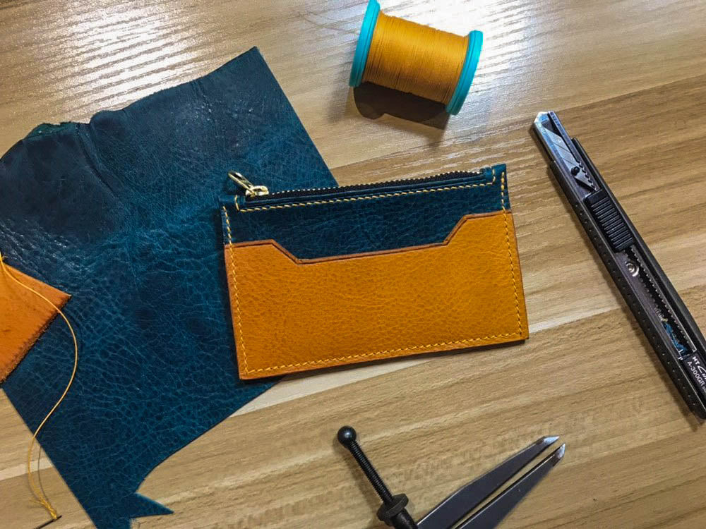 Zip Cardholder Wallet - Crafune