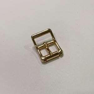 22mm Glossy Gold Roller Buckle